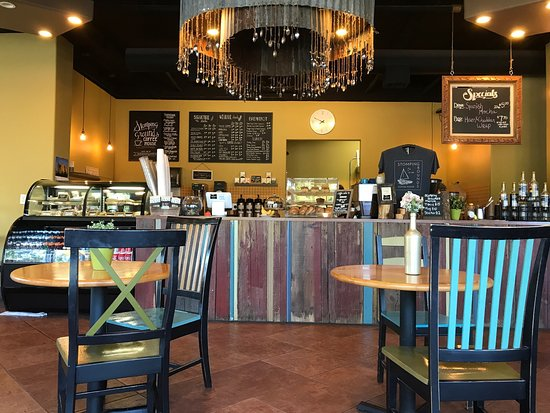 Fairview, Oregón: Stomping Grounds Coffee House