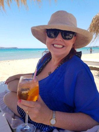 Golden Beach, Grækenland: refreshing afternoon