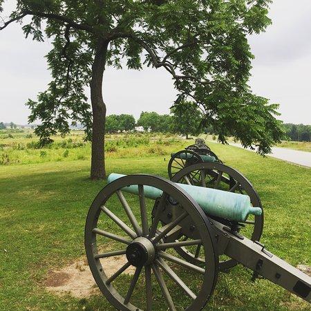 Εθνικό Στρατιωτικό Πάρκο του Γκέτισμπεργκ: Seminary Ridge, Gettysburg Battlefield, PA, USA