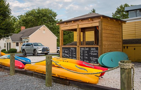 Oxford, MD: Dockside Boat Rentals will deliver kayaks & bikes to Sandaway