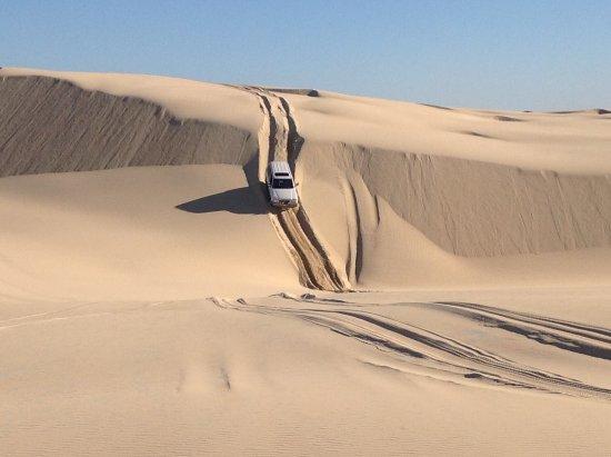 Port Stephens, Australien: Conquering the sand
