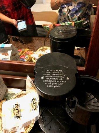 Sonora, CA: Dirty broken coffee pot