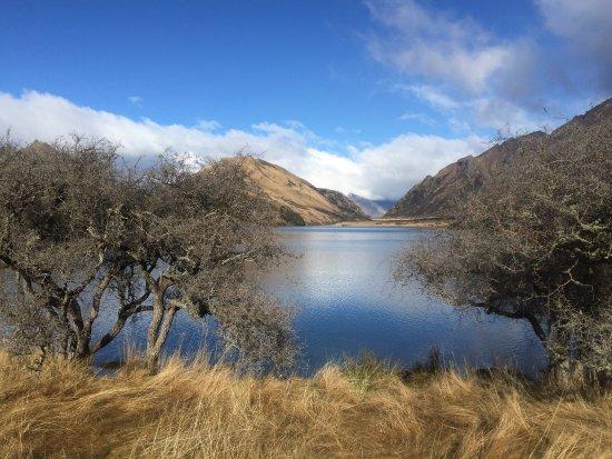Moke Lake: Great place, many colors in winter, landscape is marvelous