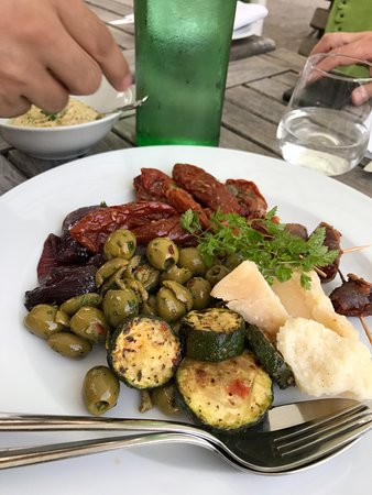 Rheda-Wiedenbruck, Alemania: assorted appetizer