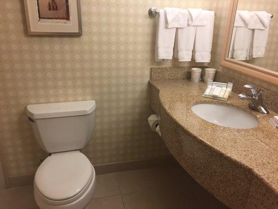 Hilton Garden Inn Colorado Springs Airport : Room 328 at the Hilton Garden Inn in Colorado Springs near the Airport.  I am a Diamond Club mem