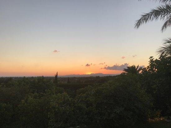 Cas Concos, Spain: Ausblick Son Terrasse
