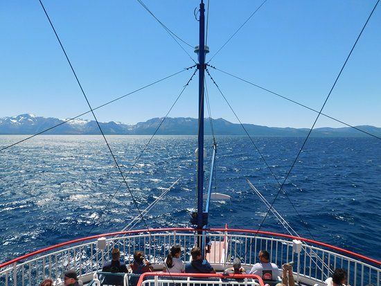 Zephyr Cove, Невада: View from the 3rd deck.