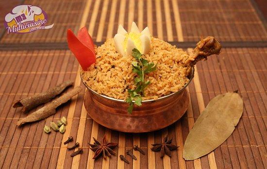 M3 Boutique Hotel : Chicken Briyani