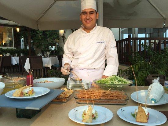 Club Med Bodrum Palmiye: Pas seulement délicieux mais la présentation est aussi soignée. Merci les chefs.