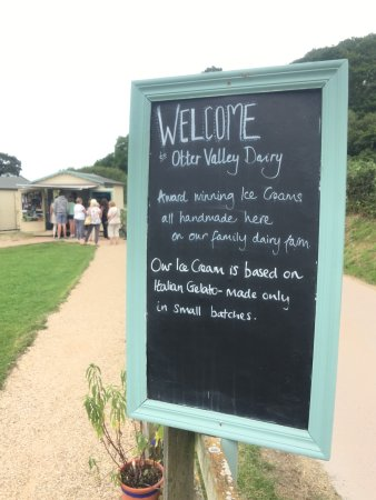Monkton, UK: Otter Valley Dairy