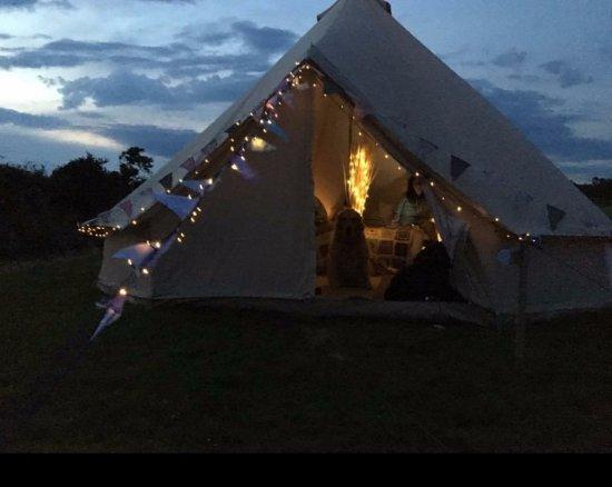 Breage, UK: Daisy Bell Tent