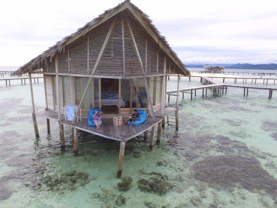 Gorontalo, Indonesia: at the balcony