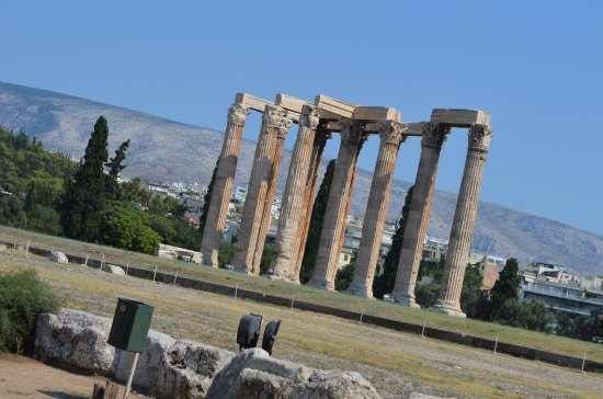 Temple of Olympian Zeus: Remaining Columns of Temple