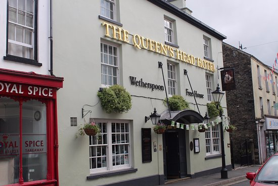 Tavistock, UK: The Queens Head hotel.