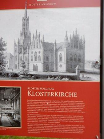 Malchow, ألمانيا: Beschreibung Klosterkirche