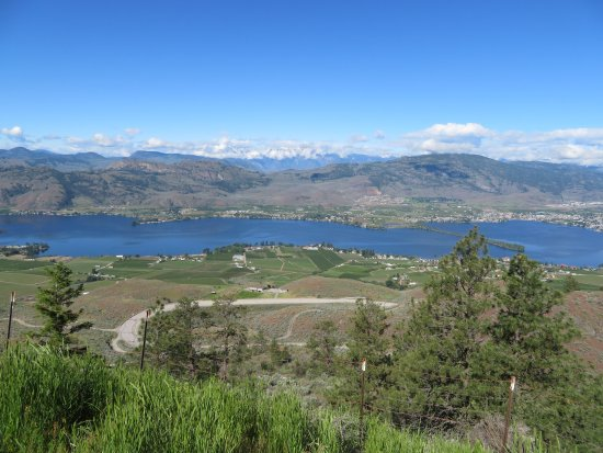 Osoyoos, Canada: The view over the lake