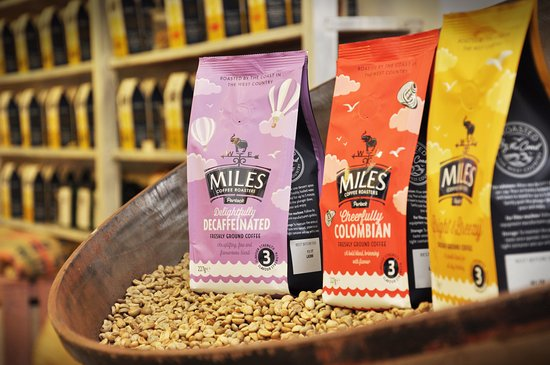 Porlock, UK: Discover our freshly roasted coffee blends