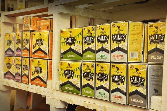 Porlock, UK: A wide range of award winning tea's available