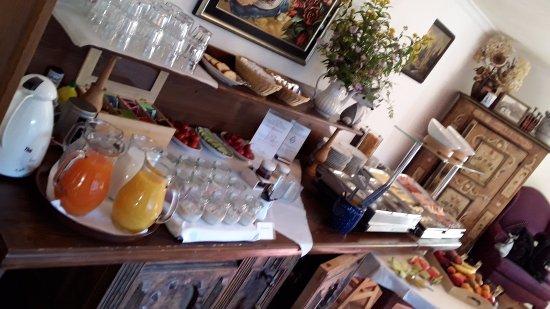 Hotel Ferienhaus Fux: Breakfast was ready on time