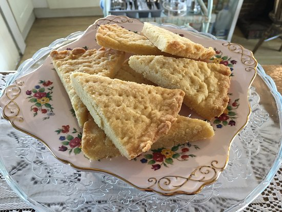 Corby, UK: Homemade Shortbread