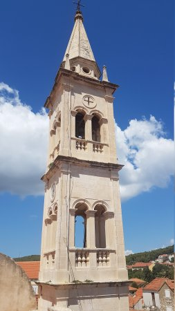 Jelsa, โครเอเชีย: Church Tower (closed for the public)