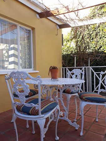 Colesberg, África do Sul: Cottage Patio