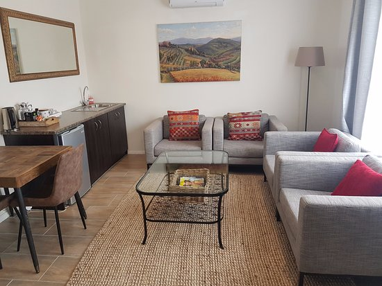 Wellington, Южная Африка: Suite with 2 rooms and Pool & mountain view