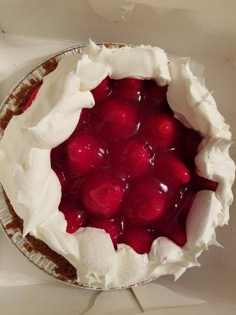 Gillett, Ουισκόνσιν: strawberry cheese cake