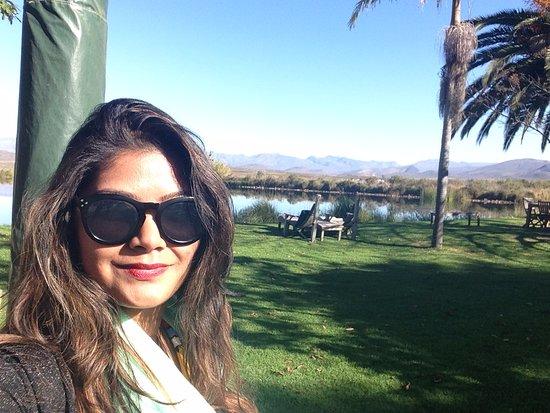Robertson, Sudáfrica: Me enjoying the view