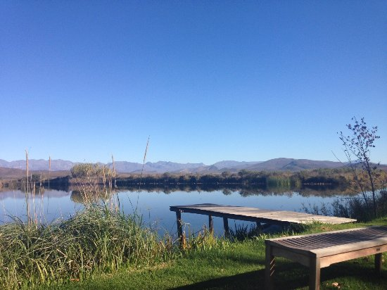 Robertson, South Africa: view from the lounger