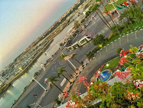 Golden Tulip Farah Rabat: View from the Rooftop