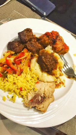 Golden Tulip Farah Rabat: Dinner