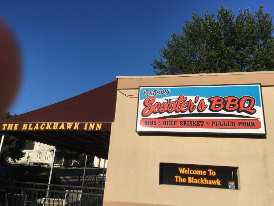 Westville, IN: Blackhawk featuring Scooter's BBQ!!!!!