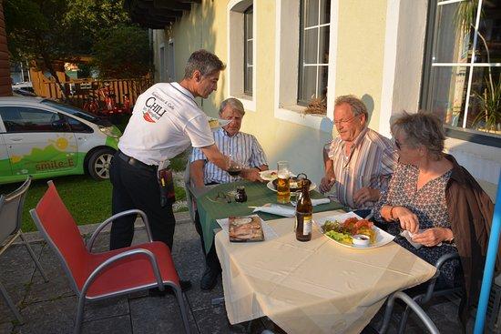 Werfenweng, Αυστρία: Terassse