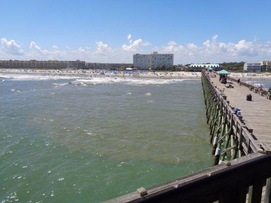 Folly Beach, SC: From the pier.