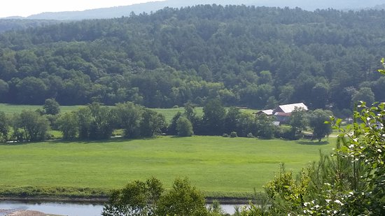 Saint Johnsbury, VT: View from Stephen Huneck Gallary