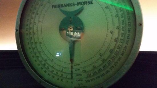 Fairbanks Museum and Planetarium : Planetarium Scale