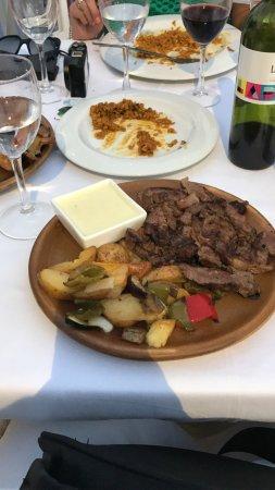 Restaurante La Herradura: Mój nieszczesny stek medium plus