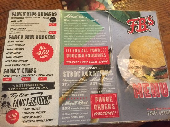 FB's Fancy Burgers: photo1.jpg