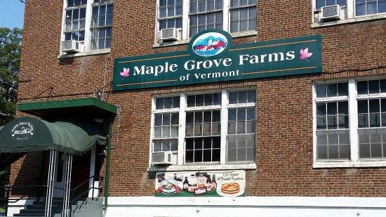 Saint Johnsbury, VT: Maple Grove Farms of Vermont