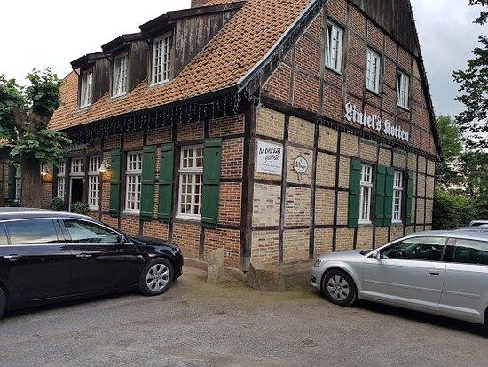 Emsdetten, Tyskland: Aussenansicht des Restaurants