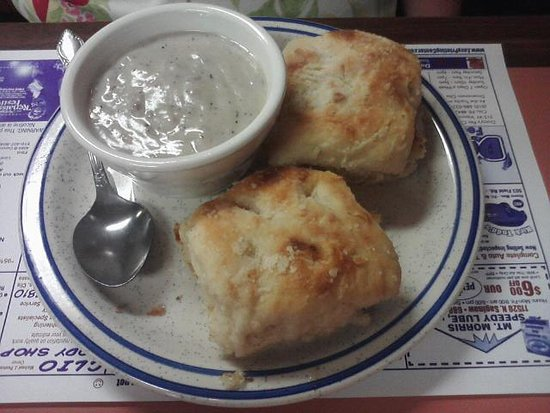 Clio, MI: Biscuits and Sausage Gravy