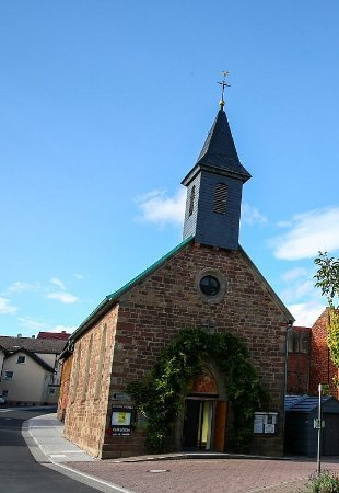 Hunfeld, Allemagne : alte Kirche Sargenzell