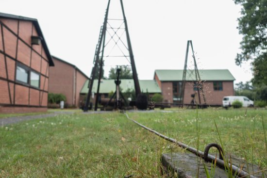 Wietze, Allemagne : Drilling rig