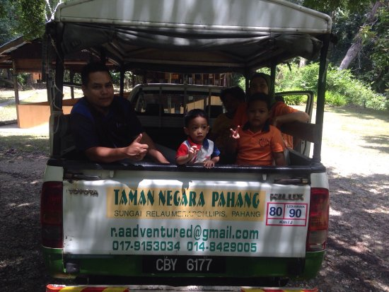 Merapuh, Malaysia: Taman Negara Pahang Sungai Relau Merapoh . Santuari Kelah  . Aktiviti  10:00pagi & 2:00petang .