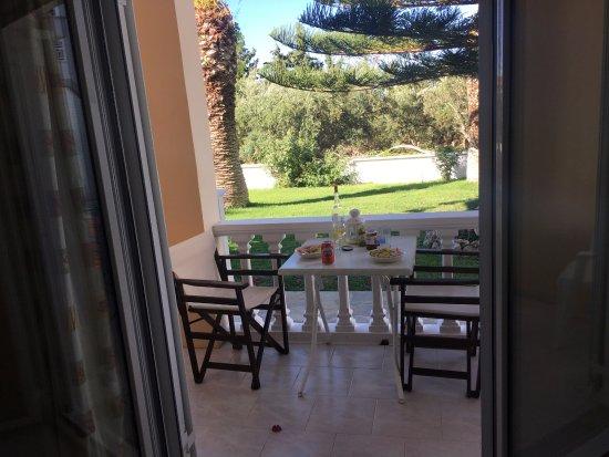 Ammoudi, Grecja: Апартаменты на 1 этаже