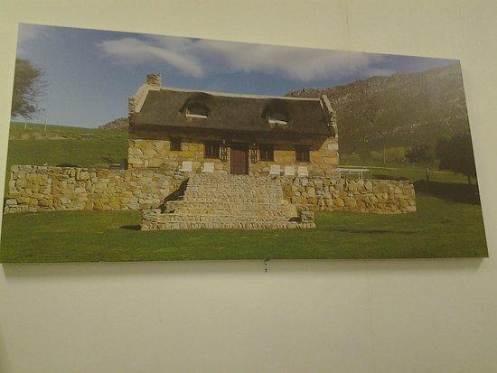 Hermanus, Güney Afrika: The original stone house
