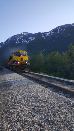 Girdwood, AK: catch the train at the Spencer Whistle Stop