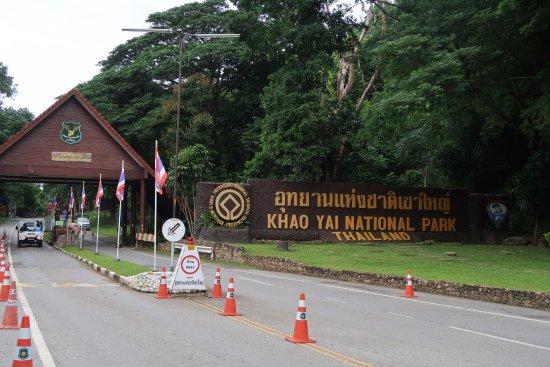 Pak Chong, Thailand: De ingang