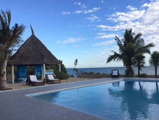 Toliara, Madagascar: The pool area